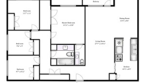 325 Bogert Avenue 4 bedroom floor plan